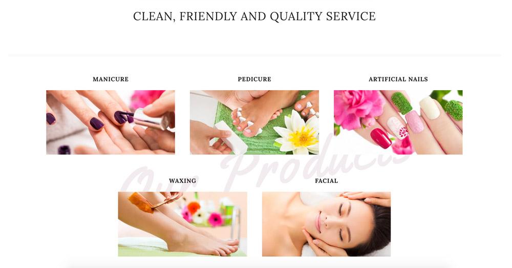 Hannah nails services