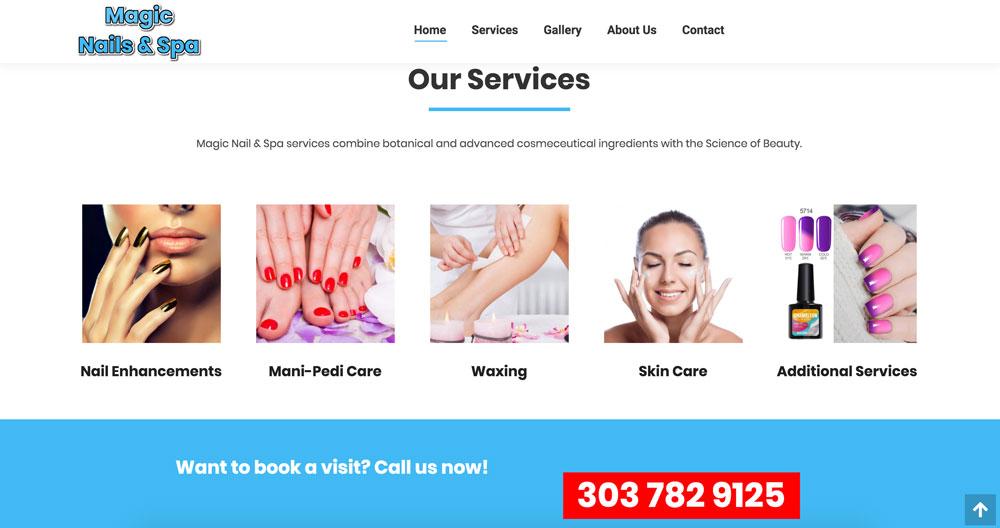 Magic nails services