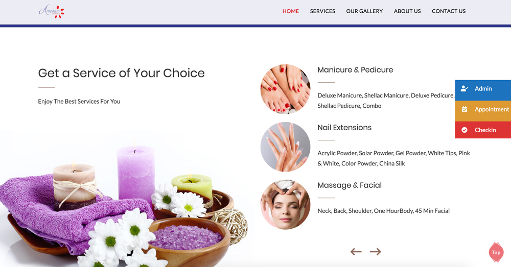 American nails services